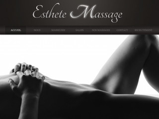 Salon de massage esthete