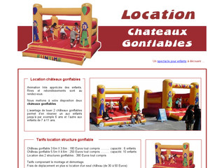 Chateau Gonflable