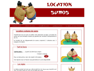 Location costumes de sumos