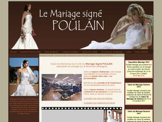 Le mariage signé Poulain
