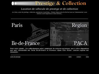 Anciennes Prestige et Collection