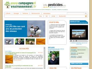 Campagnes et environnement