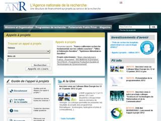 Agence Nationale Recherche