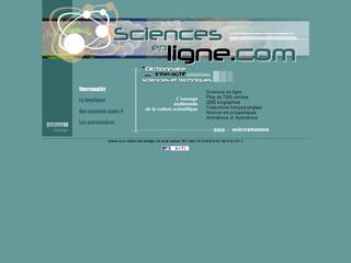 Sciences en ligne