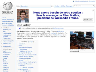 Disc jockey - Wikipedia