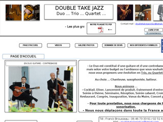 Double Take Jazz Duo