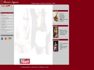 MarieLu lingerie