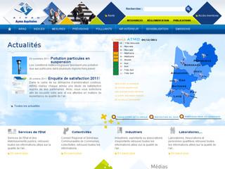 Qualité de l'air en Aquitaine
