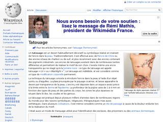 Tatouage Wikipédia