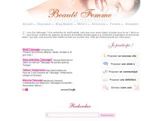 Tatouage Beauté Femme
