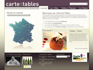 Carte Sur Tables