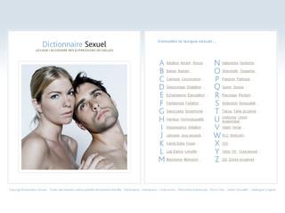 Dictionnaire Sexuel