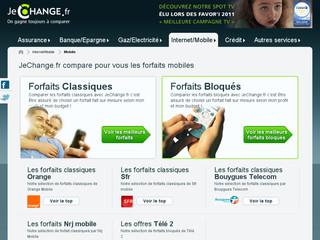 Comparateur Mobile Jechange .fr