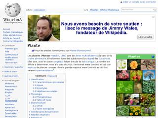 Plante Wikipédia