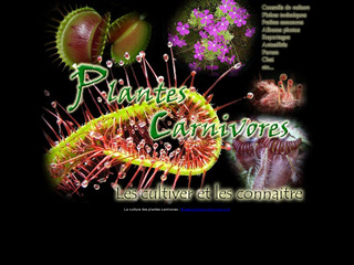 La culture des plantes carnivores