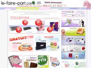 Le Faire-Part