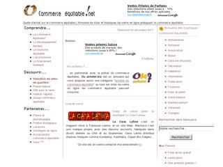 Commerce équitable .net