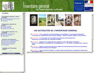 Inventaire général du patrimoine culturel