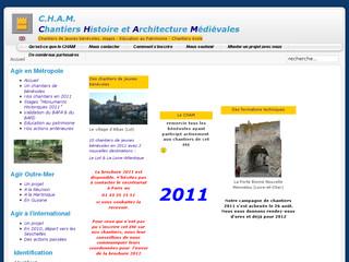 Chantiers histoire et architecture médiévales