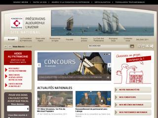 Fondation du patrimoine .net