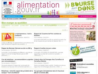 Sécurité sanitaire des aliments français