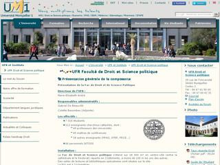 UFR Droit et Science politique
