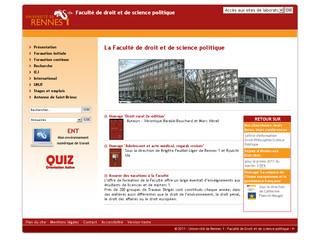 Rennes 1 Faculté de Droit