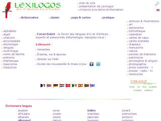 Lexilogos