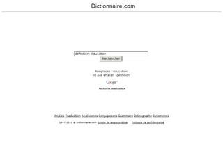 Dictionnaire .com