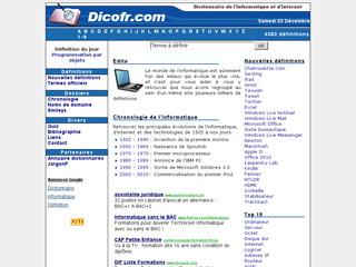 Dictionnaire de l'informatique et d'internet