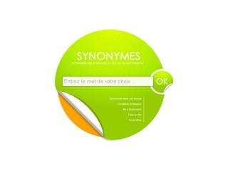 Dictionnaire des synonymes et antonymes