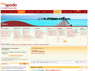 Voyage Opodo