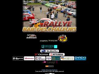 Rallye Automobile Baie des Chaleurs