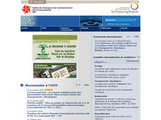 Institut de l'Énergie et de l'Environnement de la Francophonie