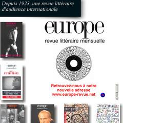 Revue Europe