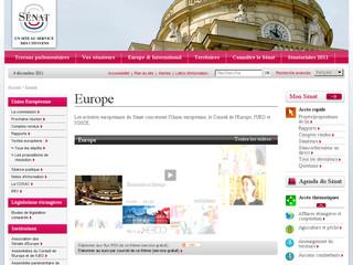 Europe Senat .fr