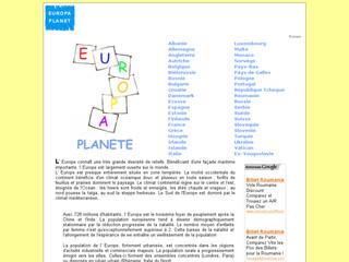 Europa Planet