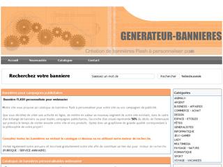 Générateur Bannieres