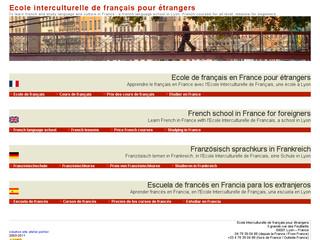 Ecole interculturelle de français pour étrangers