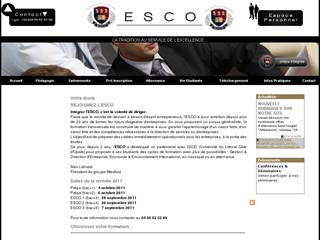 ESCO Ecole Supérieure de Commerce