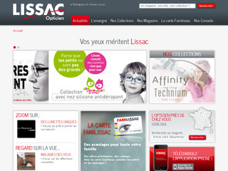 Lissac Opticien .fr