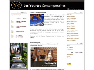 Yourte Contemporaine