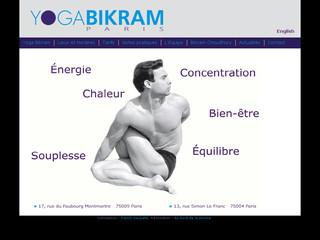 YogaBikram Paris