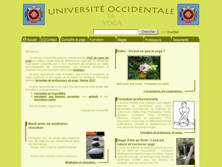 Université Occidentale de Yoga
