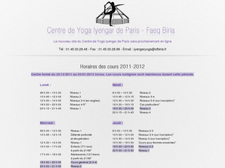 Centre de Yoga Iyengar de Paris