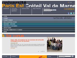Université Paris-Est Créteil