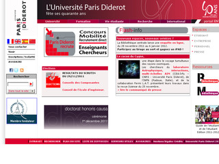 Université Paris Diderot-Paris7