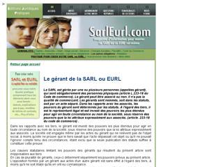 Gérance de SARL et EURL