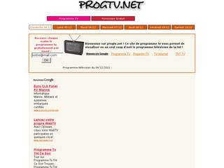 Programme TV TNT