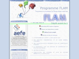 FLAM Programme Français langue maternelle